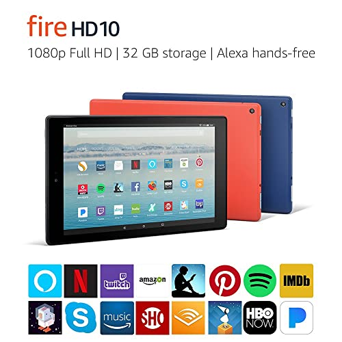 Fire HD 10 Tablet with Alexa Hands Free Full HD Display