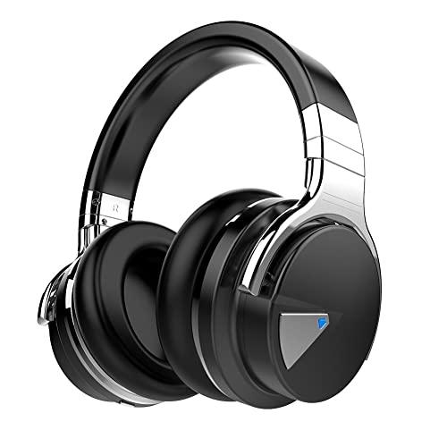 COWIN E7 Wireless Bluetooth Headphones with Mic Hi-Fi Deep Bass Wireless Headset