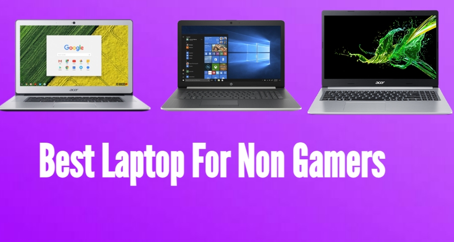 non gamer laptop