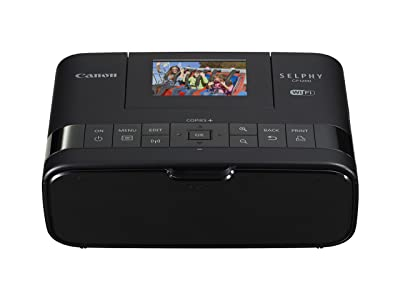 Canon Selphy CP1200 Black Wireless