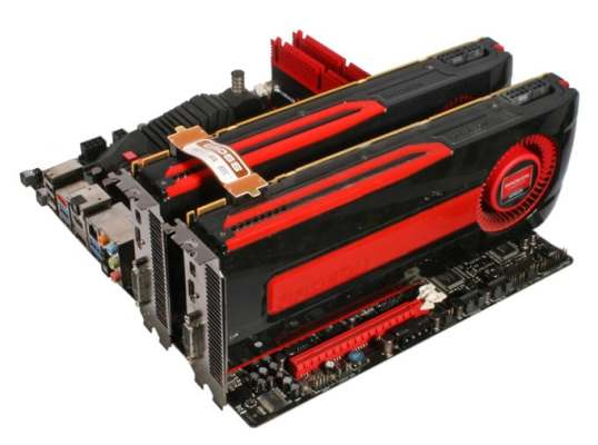 Installing-AMD-crossfire-graphics-card