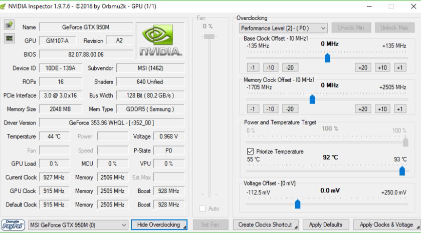 Nvidia-Inspector-Overclocking-software