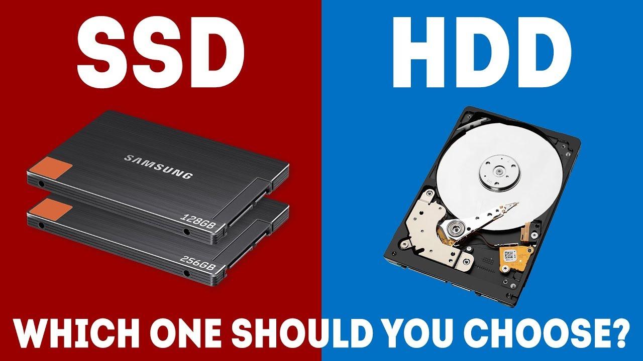 SSD VS HHD5