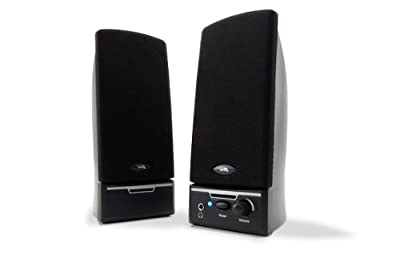 Cyber Acoustics CA-2012 2.0 Desktop PC Computer Speakers
