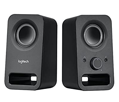 Logitech Multimedia Speakers Z150 with Stereo Sound for Multiple Devices