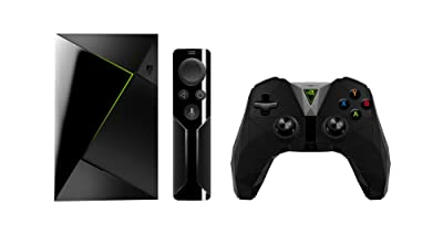 NVIDIA Shield TV Streaming Media Player with Remote and Game Controller