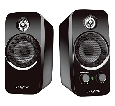 Creative Inspire T10 2.0 Multimedia Speaker System with BasXport