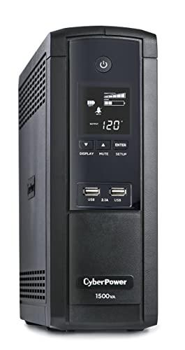 CyberPower BRG1500AVRLCD Intelligent LCD UPS System