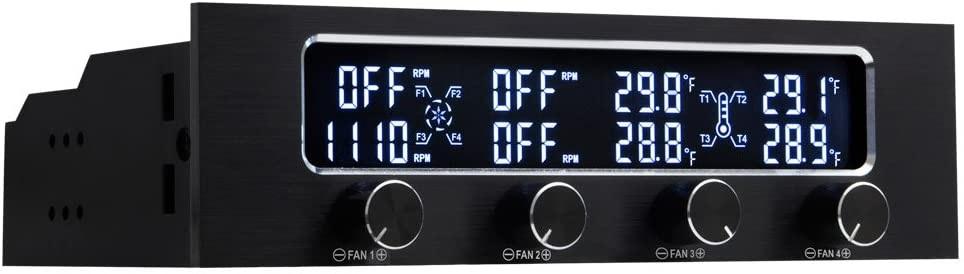 KingWin Fan Controller 4 Channel W/ LED