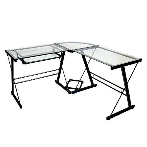 Walker Edison Soreno L-shaped Desk