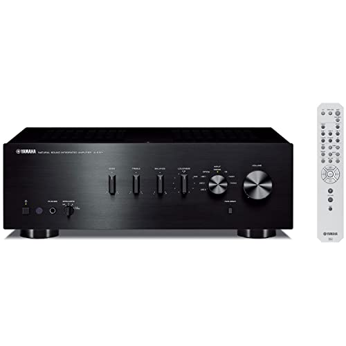 Yamaha A-S301BL Natural Sound Integrated Stereo Amplifier