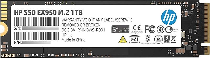HP EX950 M.2 PCIe