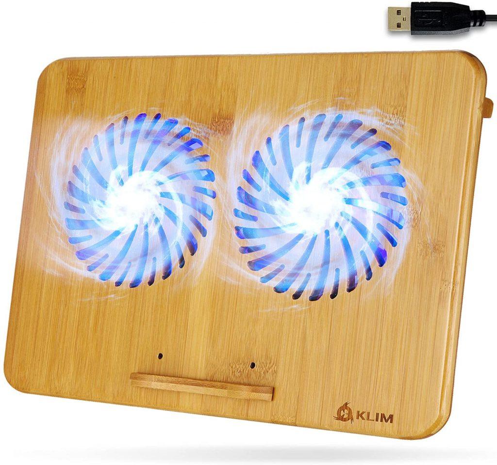 KLIM Bamboo - Laptop Cooling pad