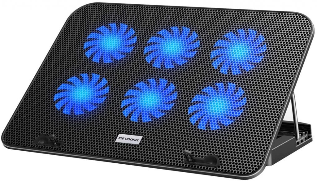ICE COOREL Laptop Cooling Cooler Pad,
