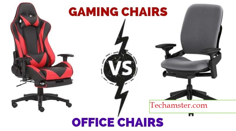Office Chairs vs Gaming Chairs : Which One is Best for You? [Guide – 2021]